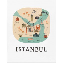 Affiche Istanbul Rifle Paper
