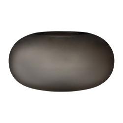 Glass Vase Hydria Walnut Wide AYTM