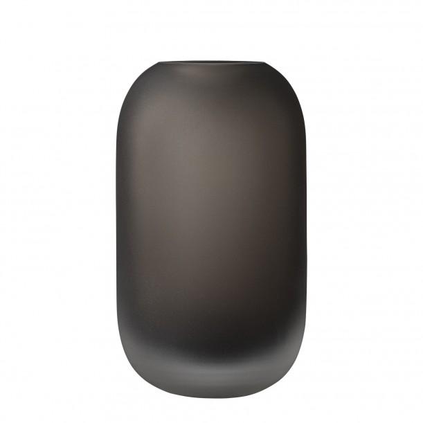 Glass Vase Hydria Walnut Low AYTM