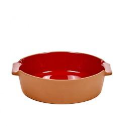 Oven Dish Terra Small Round Red L 23 x D 21,5 Jensen Co Serax