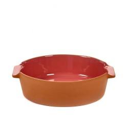 Oven Dish Terra Small Round Pink L 23 x D 21,5 Jensen Co Serax