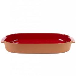 Oven Dish Terra Large Oval Red L 45 x 26 Jensen Co Serax