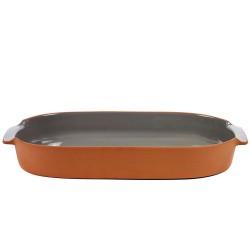 Oven Dish Terra Large Oval Grey L 45 x 26 Jensen Co Serax