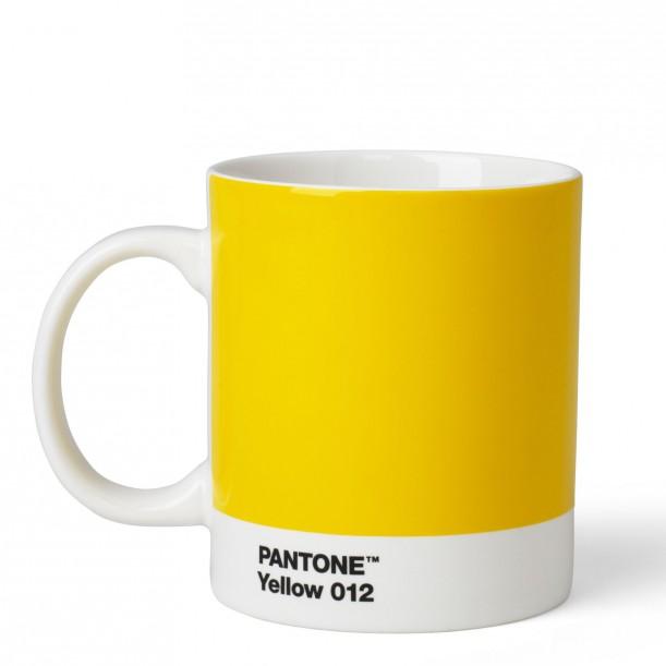 Pantone Mug Yellow 012C ROOM COPENHAGEN