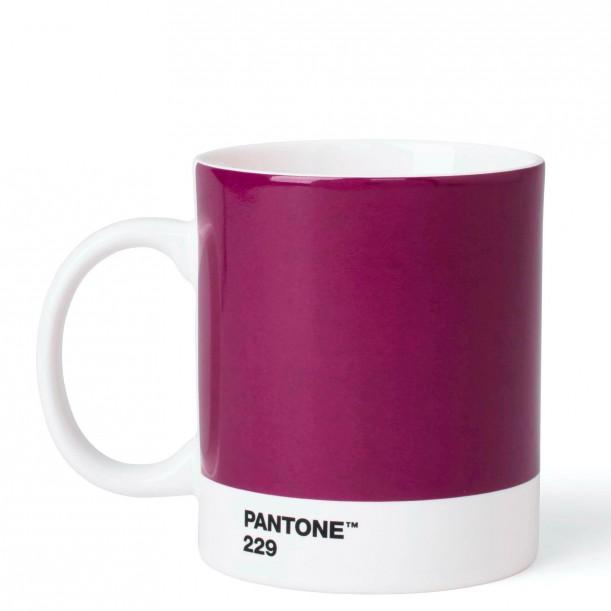 Pantone Mug Aubergine 229C ROOM COPENHAGEN
