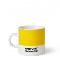 Tasse à Expresso Pantone Jaune 012C ROOM COPENHAGEN