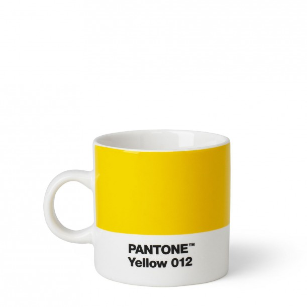 Pantone Espresso Cup Yellow 012C ROOM COPENHAGEN