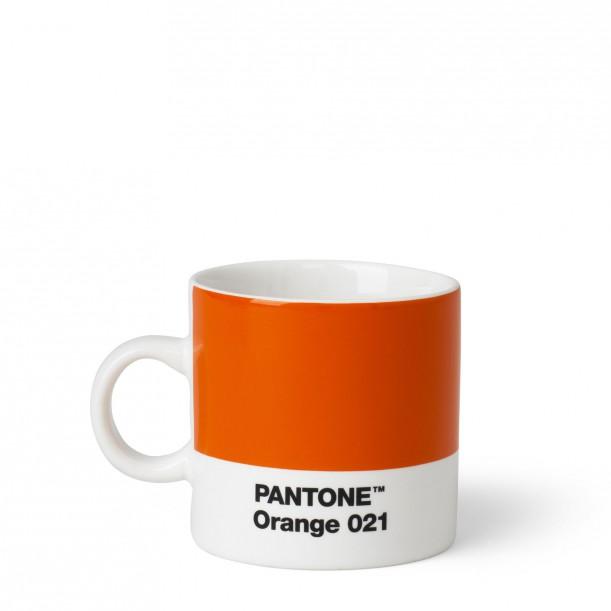 Pantone Espresso Cup Orange 021C ROOM COPENHAGEN