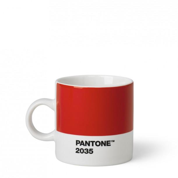 Pantone Espresso Cup Red 2035C ROOM COPENHAGEN