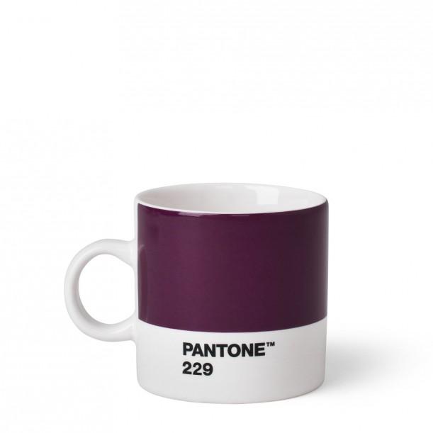 Pantone Espresso Cup Aubergine 229C ROOM COPENHAGEN
