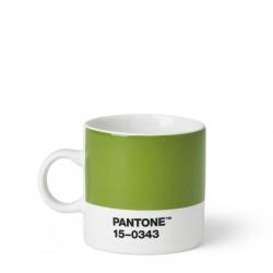 Tasse à Expresso Pantone Vert 15-0343 ROOM COPENHAGEN