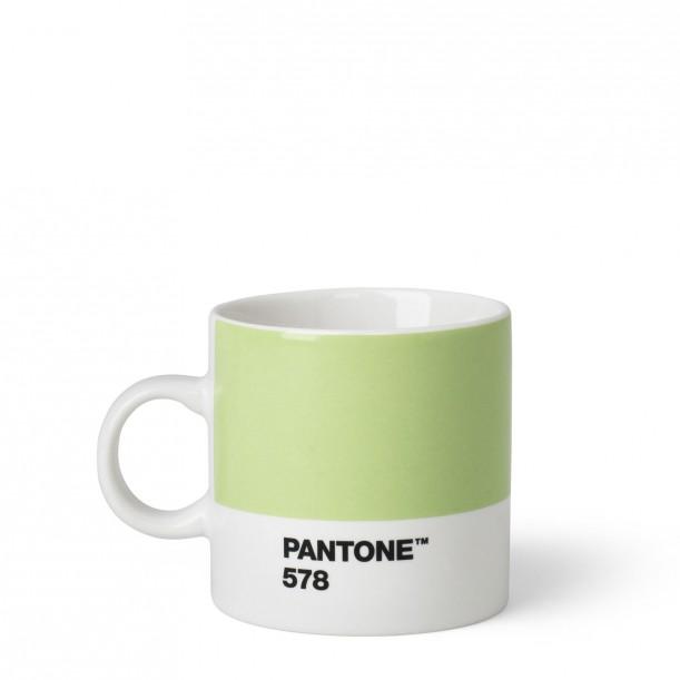Pantone Espresso Cup Light Green 578C ROOM COPENHAGEN