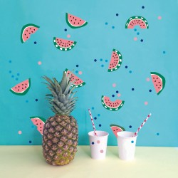 Sticker Mural Just a Touch Watermelon Mimilou