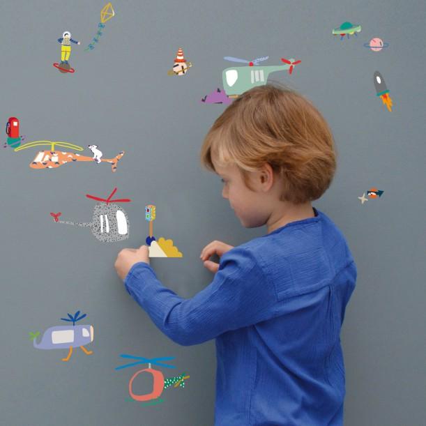 Wall Sticker Air Traffic Mimilou