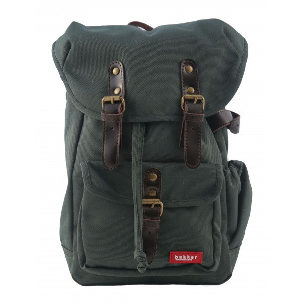 Small Backpack HIPHIP Khaki 35 x 20 x 10 cm Bakker