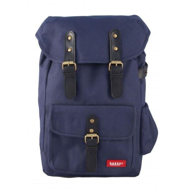 Small Backpack HIPHIP Navy 35 x 20 x 10 cm Bakker