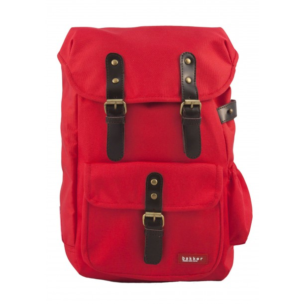 Small Backpack HIPHIP Red 35 x 20 x 10 cm Bakker