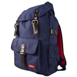 Large Backpack HURRAY Navy 42 x 28 x 12 cm Bakker