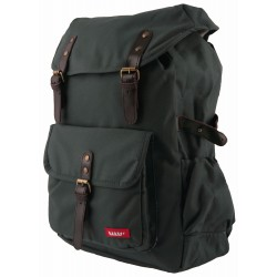 Large Backpack HURRAY Khaki 42 x 28 x 12 cm Bakker