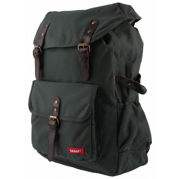 Large Backpack HURRAY Khaki 42 x 28 x 12 cm Bakker