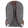 Backpack XL Matahari Canvas and Leather 40 x 31 x 17 cm Bakker