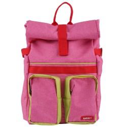 Large Backpack ROLLUP Pink 46 x 33 x 12 cm Bakker