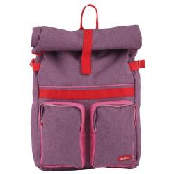Large Backpack ROLLUP Purple 46 x 33 x 12 cm Bakker