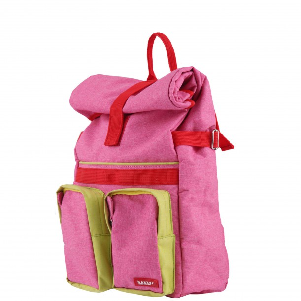 Small Backpack ROLLUP Pink 37 x 24 x 10 cm Bakker