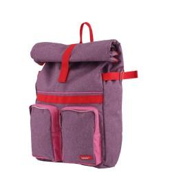 Small Backpack ROLLUP Purple 37 x 24 x 10 cm Bakker