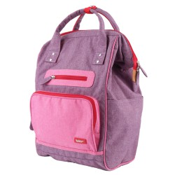 Backpack DOC Purple 42 x 28 x 19 cm Bakker Made With Love