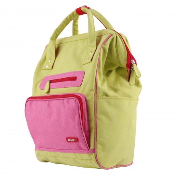 Backpack DOC Lime 42 x 28 x 19 cm Bakker Made With Love