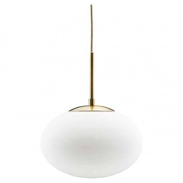 Lampe Suspension Opal Blanche Diam 30 cm House Doctor