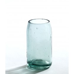 Vase Bouteille Recyclée Clair