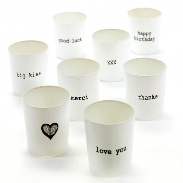 8 Candle Jars Feeling Marie Serax