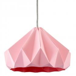 Chesnut Origami Pendant Pink Diam 28 cm Snowpuppe