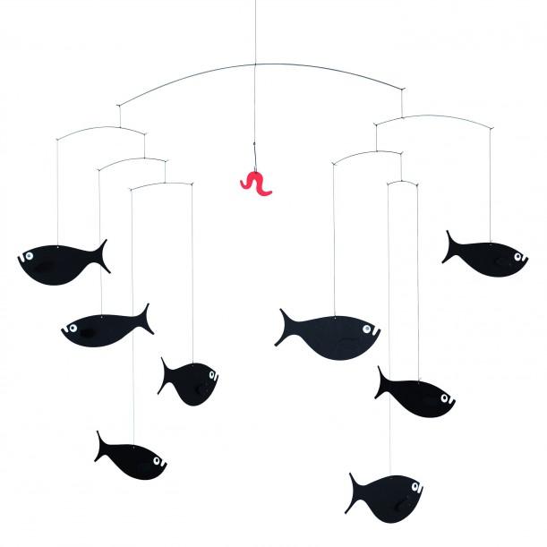 Mobile Shoal of Fish