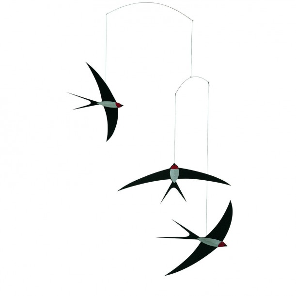 Mobile Flight of Swallows
