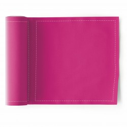 Rouleau de 25 Serviettes de Table Fuchsia Mydrap