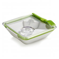 Lunch box Appetit White and Green