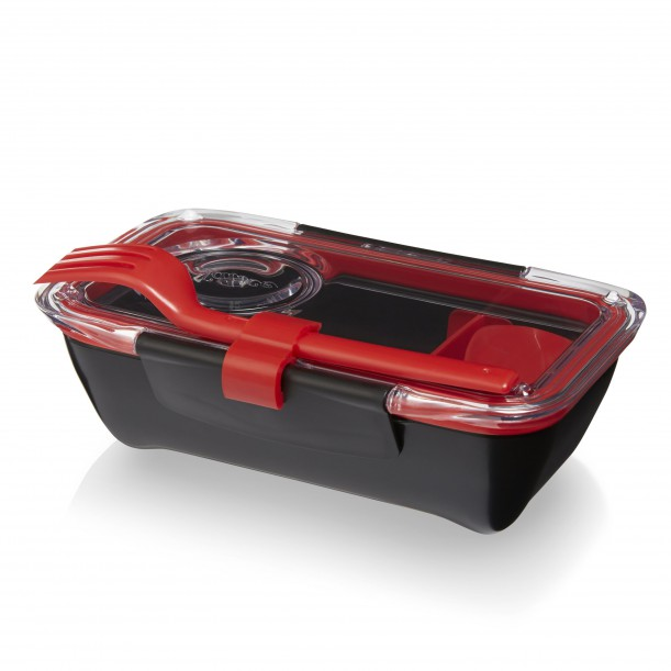 Bento Box Black and Red