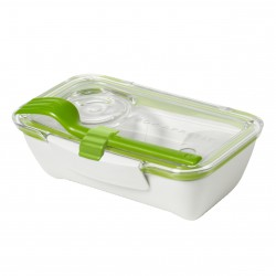 Bento Box White and Green