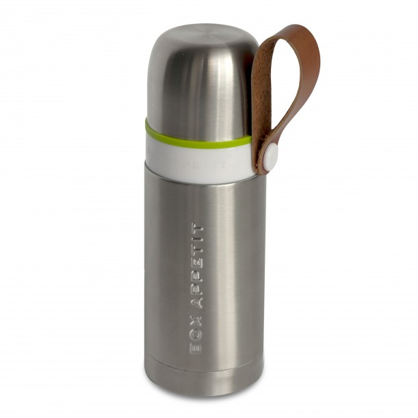 Stainless Steel Thermo Flask Black + Blum