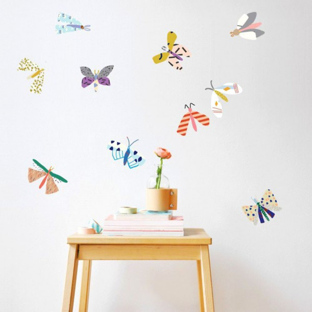 Wall Sticker Just a Touch Butterfly Mimilou