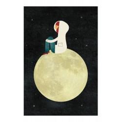 Print On the Moon Blanca Gomez