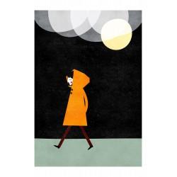 Affiche Pluie de Nuit Blanca Gomez
