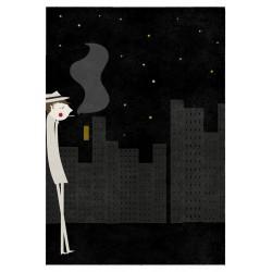 Print the Night Blanca Gomez