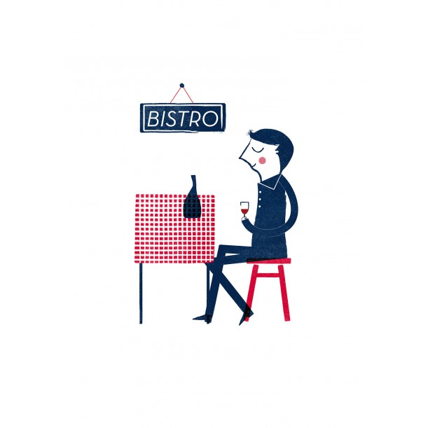 Affiche Parisien Blanca Gomez