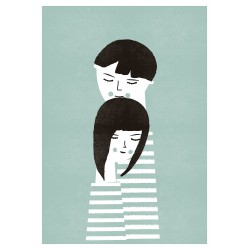 Print The Couple Blanca Gomez