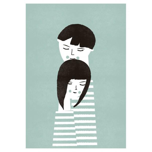 Print The Couple Blanca Gomez