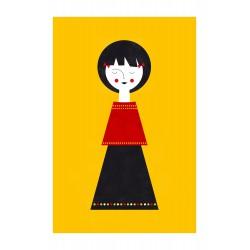 Affiche Babydoll II Blanca Gomez